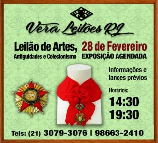 VERA LEILÕES RJ - FEVEREIRO DE 2019