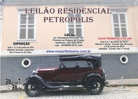 LEILÃO RESIDENCIAL PETRÓPOLIS - JUNHO 2019
