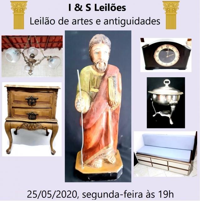 IV LEILÃO DE ARTES E ANTIGUIDADES I & S LEILÃO